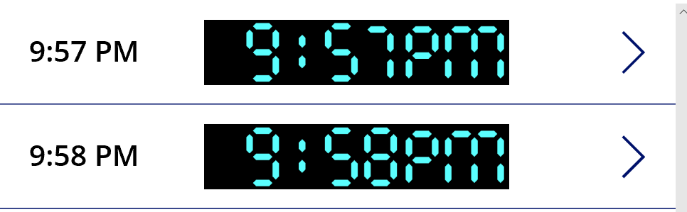 PowerApps Design - Create a Digital Alarm Clock Display - Life on